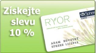 Věrnostní karta RYOR - Sphere Card