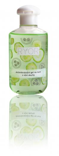 Antimicrobial Hand Gel with Cucumber Scent