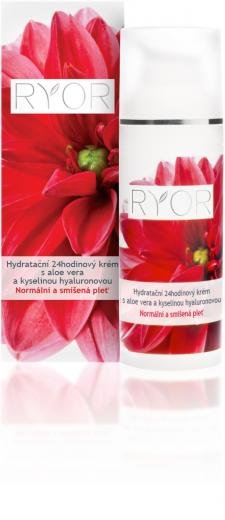 24-hour Moisturizing Cream with Aloe Vera and Hyaluronic Acid