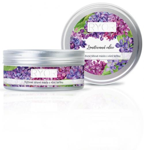 Nourishing body butter with lilac Aroma