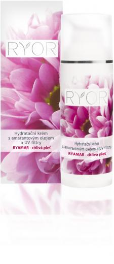Hydrating Cream with Amaranth Oil for Highly Sensitive Skin
